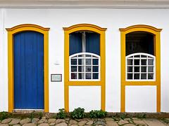 photo2 - Colorful Paraty Doors & Windows (Jassy-50) Tags: photo paraty brazil door window colorful blueyellow bluedoor cby halfwindow