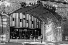 Bunny Jacksons (Geoff France) Tags: mono monochrome blackandwhite street streetphotography urban city manchester landscape urbanlandscape