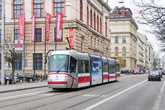 BRN_1940_201811 (Tram Photos) Tags: skoda škoda 13t brno brünn strasenbahn tram tramway tramvaj tramwaj mhd šalina dopravnípodnikměstabrna dpmb