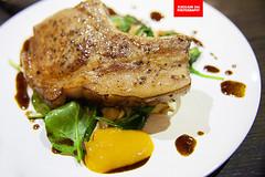 Kurobuta Pork Chop (APERTURE X & THE CULINARY ADVENTURER) Tags: food singapore bistrocafe kurobutapork salad