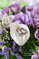 A beautiful promise (lauren3838 photography) Tags: bride laurensphotography lauren3838photography love bouquet flowers wedding weddingrings weddingphotographer bridal marriage rings lily roses md maryland nikon d750 dof macro 60mmmicronikkor ring