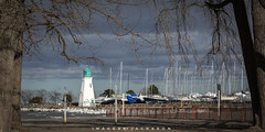 Port Dalhousie Ontario 2019 (John Hoadley) Tags: portdalhousie lighthouset stcatharines ontario 2019 january sailboats ice canon eosr 24105 f13 iso400