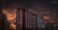 En llamas/ In flames (Jose Antonio. 62) Tags: spain españa asturias gijón city ciudad building edificio