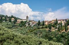 San Gennaro (dxd379) Tags: italy italia lucca tuscany church tower pievesangennaro toscana