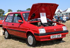 G102 ONB (Nivek.Old.Gold) Tags: 1989 rover metro 13 l clubman auto 3door lexmead stockport