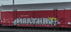 173_2018_10_11_Bremen_Hbf_6143_175_MEG_609_mit_Autotransportzug ➡️ Bremerhaven (ruhrpott.sprinter) Tags: ruhrpott sprinter deutschland germany allmangne nrw ruhrgebiet gelsenkirchen lokomotive locomotives eisenbahn railroad rail zug train reisezug passenger güter cargo freight fret bremen hbf 0440 1x16 1144 1265 6101 6145 6139 6140 6143 6146 6151 6152 6155 6182 6185 6187 6189 6193 7386 boxx ccw db eloc evb hctor hsl itl meg nwb öbb press radve rbh rpool graffiti