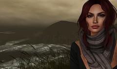 Stormy Weather (Saga Mea) Tags: storm fog stormyseas stormyweather missyou sl secondlife virtualworld digitalart 3dart achillisland