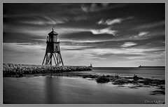 Mouth of the tyne (peterwilson71) Tags: arcitecture clouds canon6d city daybreak exposure elevated horizon harbour industrial light sky landscape motion northeast monochrome outdoors ocean outdoor skys sea seashore seascape tide travel water lighthouse tyne
