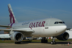 Airbus A310-308 n° 667 ~ A7-AFE  Qatar (Aero.passion DBC-1) Tags: spotting lbg 2009 dbc1 david biscove aeropassion avion aircraft aviation plane airport airbus a310 ~ a7afe qatar