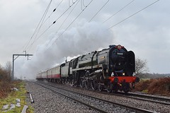 70000 (Martin's Online Photography) Tags: britannia 70000 train locomotive steam 1z71 burnley crewe astley greatermanchester nikon nikond7200