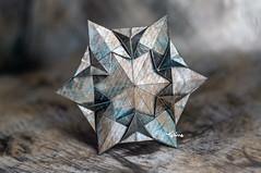 New Year's Eve (talina_78) Tags: origami star hexagon tutorial