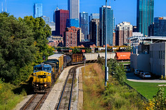 Rent-a-Rekt (BravoDelta1999) Tags: canadiannational cn railway illinoiscentral ic railroad ge transportation generalelectric gecx freeportsubdivision csxt csx 18thstreet chicago illinois c408w 9148 m337 manifest train