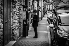 Parking (damiencorrephoto) Tags: bnw noiretblanc blackandwhite black white noir blanc rue street