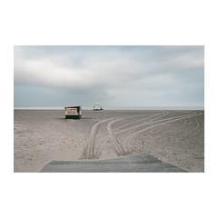 Lazy Days (John Pettigrew) Tags: lines tamron d750 nikon season dull tracks space sheds mundane topographics ordinary 2470mm beach boring banal angles desolate johnpettigrew observations deserted seascape huts imanoot documenting seaside