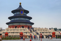The Temple of Heaven (Gary Burke.) Tags: templeofheaven mingdynasty architecture temple religion religious worship china beijing asia chinese travel wanderlust asian traveling travelphotography klingon65 garyburke sony a6300 mirrorless sonya6300 historical history historic prc peoplesrepublicofchina seetheworld culture qingdynasty worldheritagesite unesco tourism touristattraction xuanwu taoist bucketlist park building outdoor tiantan