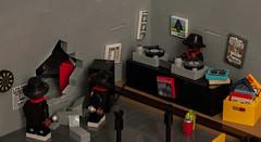 """Walk this way!"" - RUN DMC (Mark van der Maarel) Tags: 80s lego vignette moc minifgures afol rundmc aerosmith music"