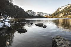2019 2-1-3b Glendalough lower lake (MJMPHOTOS.IE) Tags: 2019 feb february winter snow lakes woods hills landscapes countywicklow tamron1530 sonya7iii martinjmurphyphotography