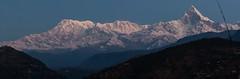 Annapurna range before sunrise (Malcolms wanderings) Tags: annapurna nepal hilalayas sunrise mountain snow