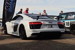 Audi R8 (GeorgeDsmith Photography) Tags: audi r8 car cars carshow auto automobile automotive transort transport transportation vehicle vehicles trax trax018 silverstone