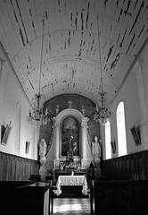 Eglise Saint-Germain, Vieux-Fumé (CindyDel) Tags: église eglisesaintgermain vieuxfumé calvados normandie france monument histoire monumenthistorique ancien noir blanc black white noiretblanc blackandwhite