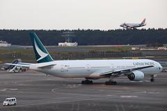 CX B773 B-HNS @ CX451 (EddieWongF14) Tags: cathaypacificairways cathaypacific boeing boeing777 boeing777300 boeing77731h b777 b773 777 773 777300 77731h bhns nrt rjaa naritainternationalairport naritaairport