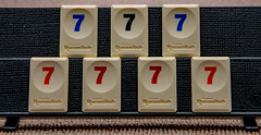 7 Rummikub Tiles (Johann (Sasolburg, RSA.)) Tags: flickrlounge countonus 7 seven rummikub johanndejager ef24105mmf4lisiiusm canoneos5dmarkiv simplysuperb