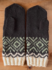 Finished! (Winterbound) Tags: knitting handmade handknitted mittens