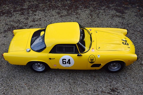 Maserati 3500 GT FIA historic race car.