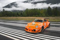 Porsche RWB 993 Jagermeister (Dylan King Photography) Tags: porsche 911 991 997 996 993 964 9972 9912 turbo c4s c4 carrera s r gt3 gt2 rwb rauhwelt begriff rauhweltbegriff vancouver whistler pemberton bc canada