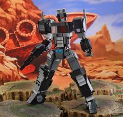"LEGO FA-05 ""Nemesis Prime"" (guitar hero78) Tags: lego legomech legomoc afol optimus transformers moc fujifilm xe1 1855mm mecha"