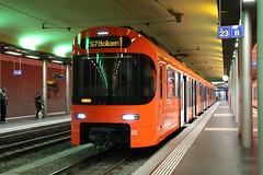 2018-12-21, RBS, Bern (Fototak) Tags: schmalspurbahn treno train railway sbahn rer bern switzerland stadler worbla s7 02