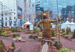 Center City (Sarah Sonny) Tags: bokehpanorama panorama bokeh shallowdof statue market philly philadelphia