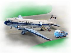 Douglas DC-3 (Vaionaut) Tags: douglas dc3 airfield lego moc aircraft airplane