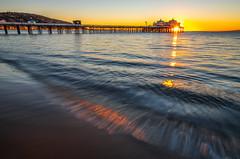 Malibu Pier Nikon D850! Malibu Sunrise Fine Art California Coast Beach Landscape Seascape Photography! Nikon D850 & AF-S NIKKOR 14-24mm F2.8G ED from Nikon! High Res 4k 8K Photography! Elliot McGucken Fine Art Pacific Ocean Sunset! (45SURF Hero's Odyssey Mythology Landscapes & Godde) Tags: nikon d850 malibu sea cave sunset fine art california coast beach landscape seascape photography afs nikkor 1424mm f28g ed from high res 4k 8k elliot mcgucken pacific ocean pier sunrise