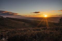 Solway Glow.. (CamraMan.) Tags: sunset bewcastlefells roundcrag crags northcumbria sonya7 fotodiox canon1740mmlusm benro cumbria wildcamping ©davidliddle ©camraman sky clouds nature moors bracken