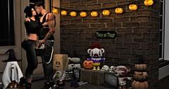 Destiny ~ Halloween Kiss (Destiny Mynx) Tags: animosity arcback beedesigns bellarosedesigns darkpassions kenn lelutka livid lumipro mooh mooloo mozdesigns ozdesign scandalize secretaffair trickortreatlane wasabi secondlife halloween