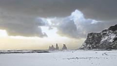 Vík 2 (karlongchan) Tags: vík iceland winter snow clouds