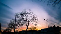 彩霞 Colourful sunset (kevinho86) Tags: ef1635f4lusm beijing wideangle canon colour 北京 空 天空 lightshadow art eos6d sunset cloudy 雲 35mm
