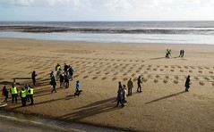 Respect (2 of 9) (goweravig) Tags: respect tommies soldiers army civiccentre foreshore swansea wales uk sand swanseaforeshore beach armistice 19141918 100thanniversary ww1