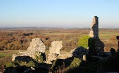 Standing tall (janet jeffery) Tags: dorset castle corfe ruins