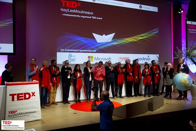 TEDxIssy team 2018
