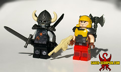 Quake Champions: Death Knight and Ranger (Saber-Scorpion) Tags: lego minifig minifigures moc brickarms brickforge brickwarriors quake doom quakechampions bethesda idsoftware quakeguy undead spacemarine