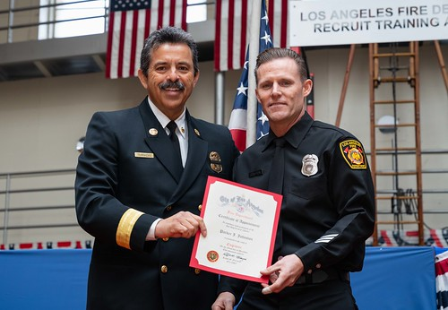 LAFD Promotional Ceremony