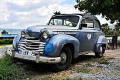 Opel Olympia (nagyistvan8) Tags: nagyistván selçuk turkey türkiye turk nagyistvan8 autó auto kocsi car oldtimer veterán opelolympia opel tárgy object színek colors kék fekete fehér sárga szürke zöld barna blue black white yellow grey green brown 2018 nikon