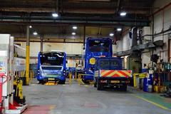 Bluestar Workshop (PD3.) Tags: go ahead goahead group gsc south coast eastleigh hampshire england uk bus buses psv pcv barton park hants dorset bluestar