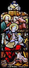 Happy Christmas (Frank Fullard) Tags: frankfullard fullard christmas xmas happychristmas merry merrychristmas greetings festive irish ireland prayer stainedglass glass art religious religion