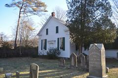 Wesley Chapel (rchrdcnnnghm) Tags: chapel methodist ramapony rocklandcountyny cemetery grave tombstone churchyard