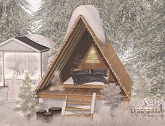 L233 - Click for promo code! (JoJo Delvalle - Photographer & blogger) Tags: secondlife game virtual 3d doll snow astralia uber tarte collabor88 n21 lagom littlebranch