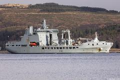 RFA Tidespring, A136, IMO 9655535; Loch Long, Firth of Clyde, Scotland (Michael Leek Photography) Tags: ship warship natowarships nato rn royalnavy britainsnavy britainsarmedforces rfa royalfleetauxiliary replenishmentship vessel workingboat workboat lochlong hmnbclyde hmnb hmsneptune faslane cowal cowalpeninsula argyllandbute argyll scotland scottishcoastline scottishlandscapes scotlandslandscapes scottishshipping westcoastofscotland westernscotland ardentinny blairmore cargoship michaelleek michaelleekphotography coulport