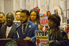 City of Chicago Aldermanic Candidates Press Conference to Support Civilian Police Accountability Council Chicago Illinois 1-9-19 5567 (www.cemillerphotography.com) Tags: cops brutality shootings killings rekiaboyd laquanmcdonald oversight reform corruption excessiveforce expensivelawsuits policeacademy